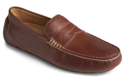 Sperry Gold Cup Harpswell Penny Loafer Leather Tan