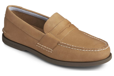 Sperry Authentic Original PLUSHWAVE Penny Loafer Sahara