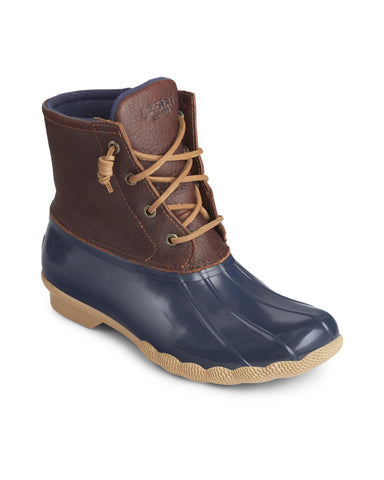 Sperry Saltwater Duck Weather Boot Tan/Navy