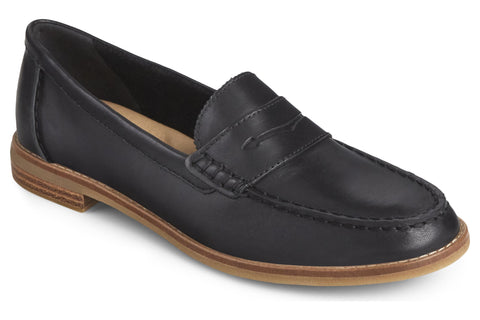Sperry Seaport Penny Loafer Black