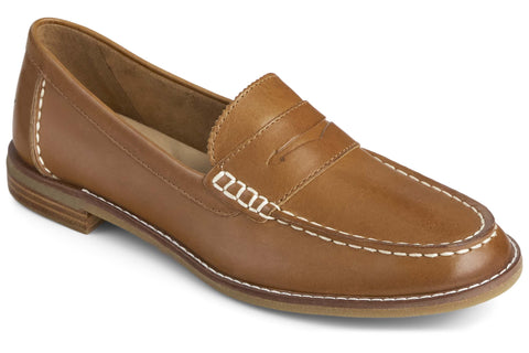 Sperry Seaport Penny Loafer Tan