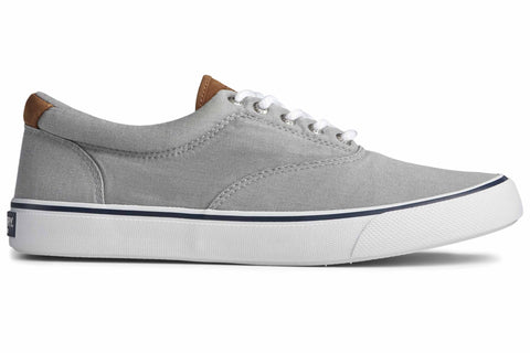 Sperry Striper II CVO Canvas Shoe Salt Washed Grey