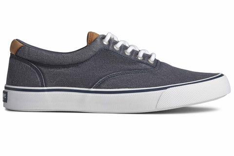 Sperry Striper II CVO Canvas Shoe Salt Washed Navy