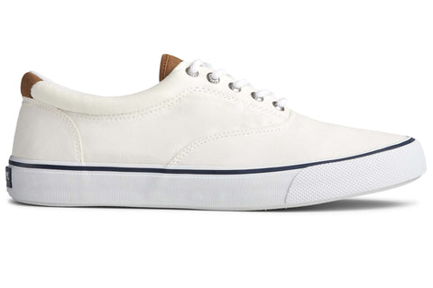 Sperry Striper II CVO Canvas Shoe Salt Washed White