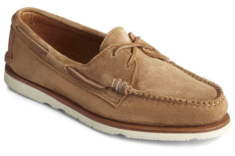 Sperry Authentic Original Sunspel Boat Shoe Tan Suede