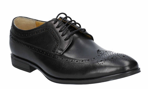 Steptronic Francis Mens Wide Fit Brogue Detail Lace Up Formal Shoe