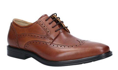 Steptronic Edward Derby Lace Up Shoe Tan
