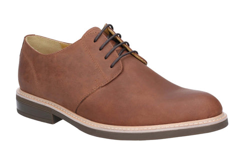 Steptronic Gleneagles Derby Lace Up Shoe Dark Tan