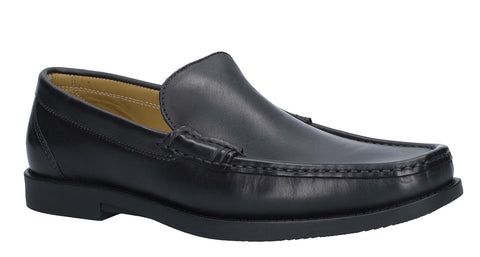 Steptronic Montana Slip On Moccassin Black