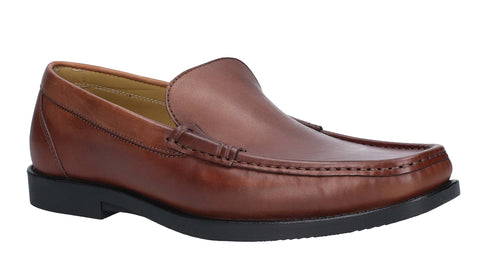 Steptronic Montana Slip On Moccassin Cognac