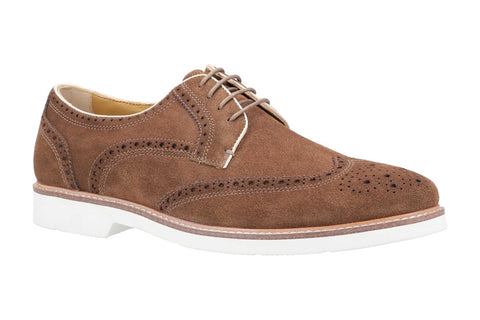 Steptronic Quentum Mens Wide Fit Brogue Shoe