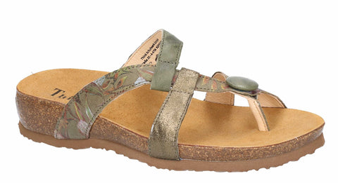 Think Julia 84334 (Sunnyday III) Womens Toe Post Mule Sandal