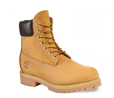 "Timberland 10061 Icon 6"" Premium Waterproof Mens Lace Up Boot YELLOW W"