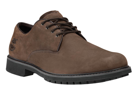 Timberland 5550R Stormbuck Oxford Mens Waterproof Lace Up Shoe Dk Brn