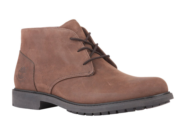Timberland 5557R Stormbuck Chukka Mens Waterproof Lace Up Boot Dk Brown