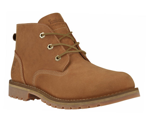 Timberland A12ES Larchmont Waterproof Mens Lace Up Chukka Boot Ginger
