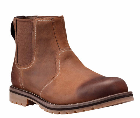 Timberland A13HZ Larchmont Chelsea Mens Pull On Boot Oak Wood