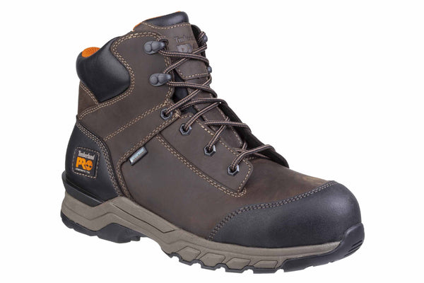 Timberland Pro Hypercharge Lace Up Safety Boot Brown