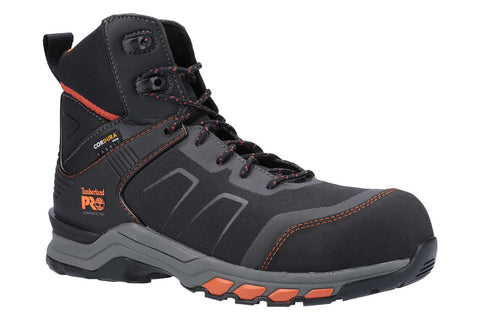 Timberland Pro Hypercharge Composite Safety Toe Work Boot Black/Orange