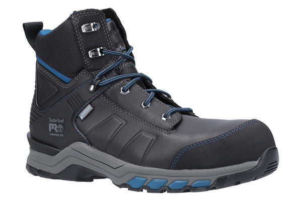 Timberland Pro Hypercharge Composite Safety Toe Work Boot Black/Teal