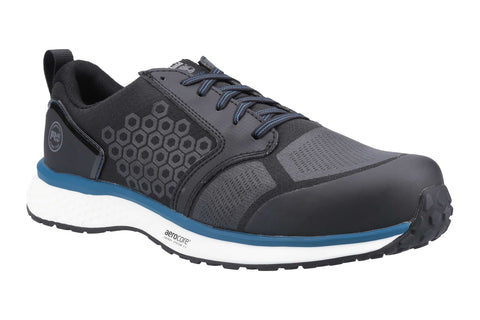 Timberland Pro Reaxion Composite Safety Trainer Black/Blue