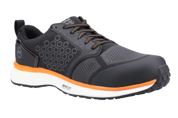 Timberland Pro Reaxion Composite Safety Trainer Black/Orange