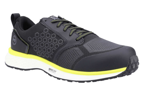 Timberland Pro Reaxion Composite Safety Trainer Black/Yellow