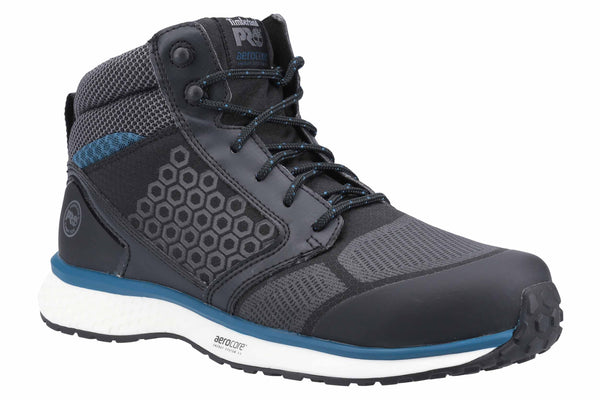 Timberland Pro Reaxion Mid Composite Safety Boot Black/Blue