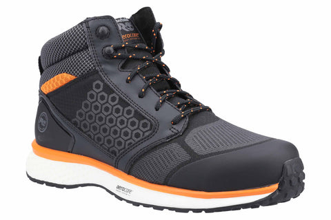Timberland Pro Reaxion Mid Composite Safety Boot Black/Orange