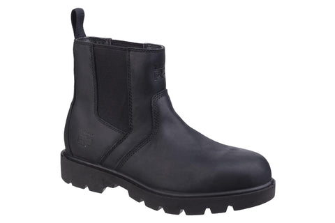 Timberland Pro Sawhorse Dealer Slip on Safety Boot Black