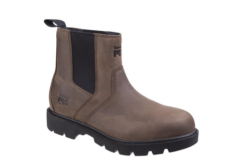 Timberland Pro Sawhorse Dealer Slip on Safety Boot Brown
