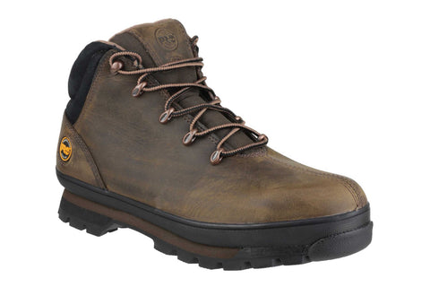Timberland Pro Splitrock Lace Up Safety Boot Brown