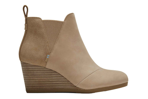 Toms Kelsey Womens Wedge Heeled Boots