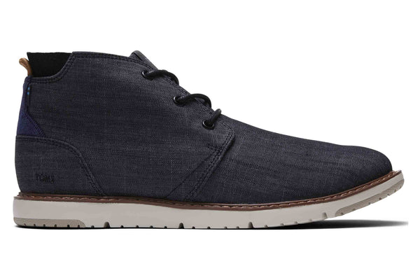 Toms Navi Mens Casual Chukka Boot