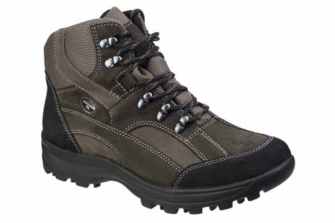 Waldlaufer Holly 471900 Womens Waterproof Wide Fit Laced Walking Boot Brasil/Smoke 911742