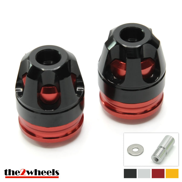 Bar Ends 'Revolver 3D' 2color with adapters for BMW S1000RR, S1000R, R nineT
