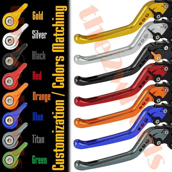 7 CLICK GP 3D Adjustable Levers Set for Yamaha