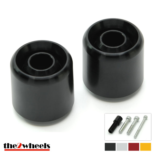 Bar Ends 'Acuda' 2color with adapters for BMW C650 GT, C600 Sport