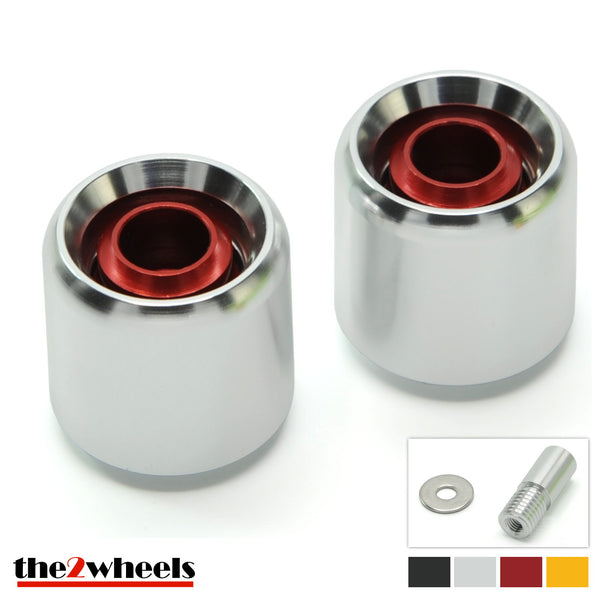 Bar Ends 'Acuda' 2color with adapters for BMW S1000RR, S1000R, R nineT