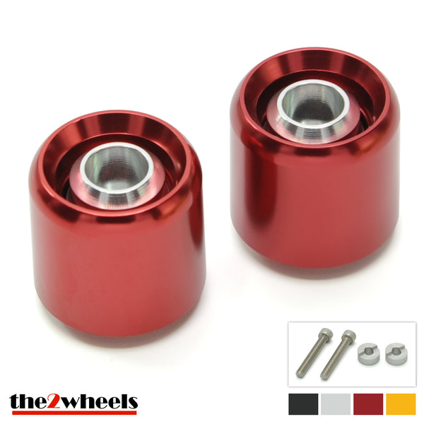Bar Ends 'Acuda' 2color with adapters for Honda