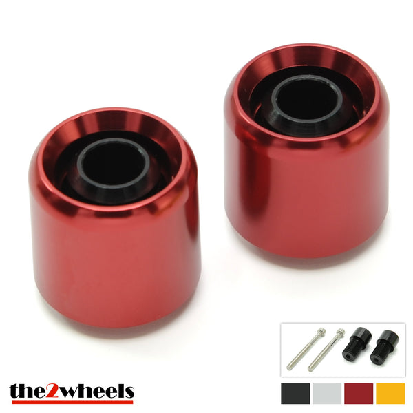 Bar Ends 'Acuda' 2color with adapters for Yamaha MT10, MT09, MT07, XSR900, XSR700, FZ1, FZ6, XJR1300, T-Max