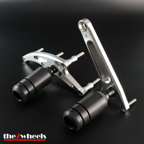 CNC Frame Sliders (No Cut) Protector for Honda CBR500R / CBR400R 2016-2018