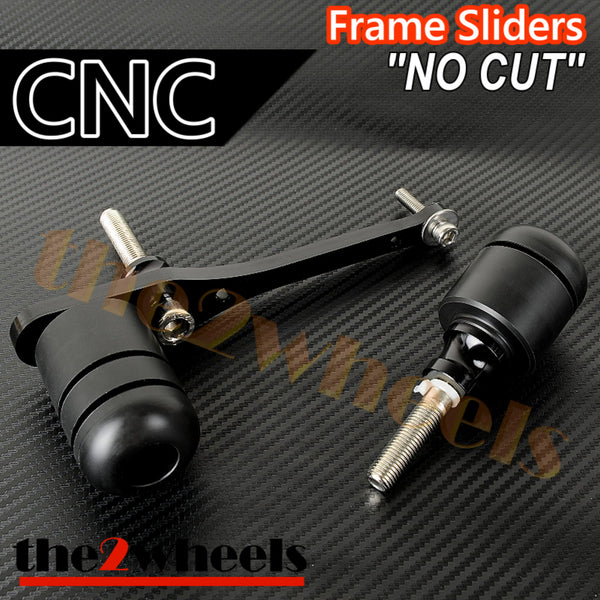 CNC Frame Sliders (No Cut) Protector for Yamaha YZF-R6 2008-2016