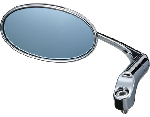 TANAX NAPOLEON BAREN CLASSIC APB-10 CHROME MIRROR, Rotatable Stem, 10mm positive & Reverse thread, 1 Mirror