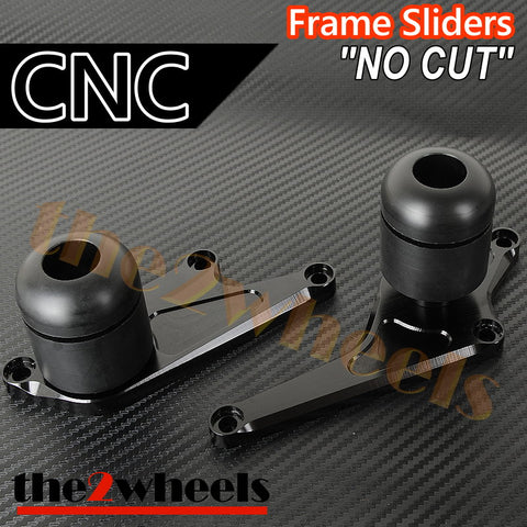 CNC Engine Sliders (No Cut) Protector for Kawasaki ZX6R 2009-2012