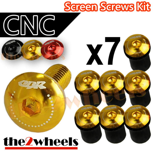 CBR Logo Windscreen Screws Bolts Kit 7 pcs
