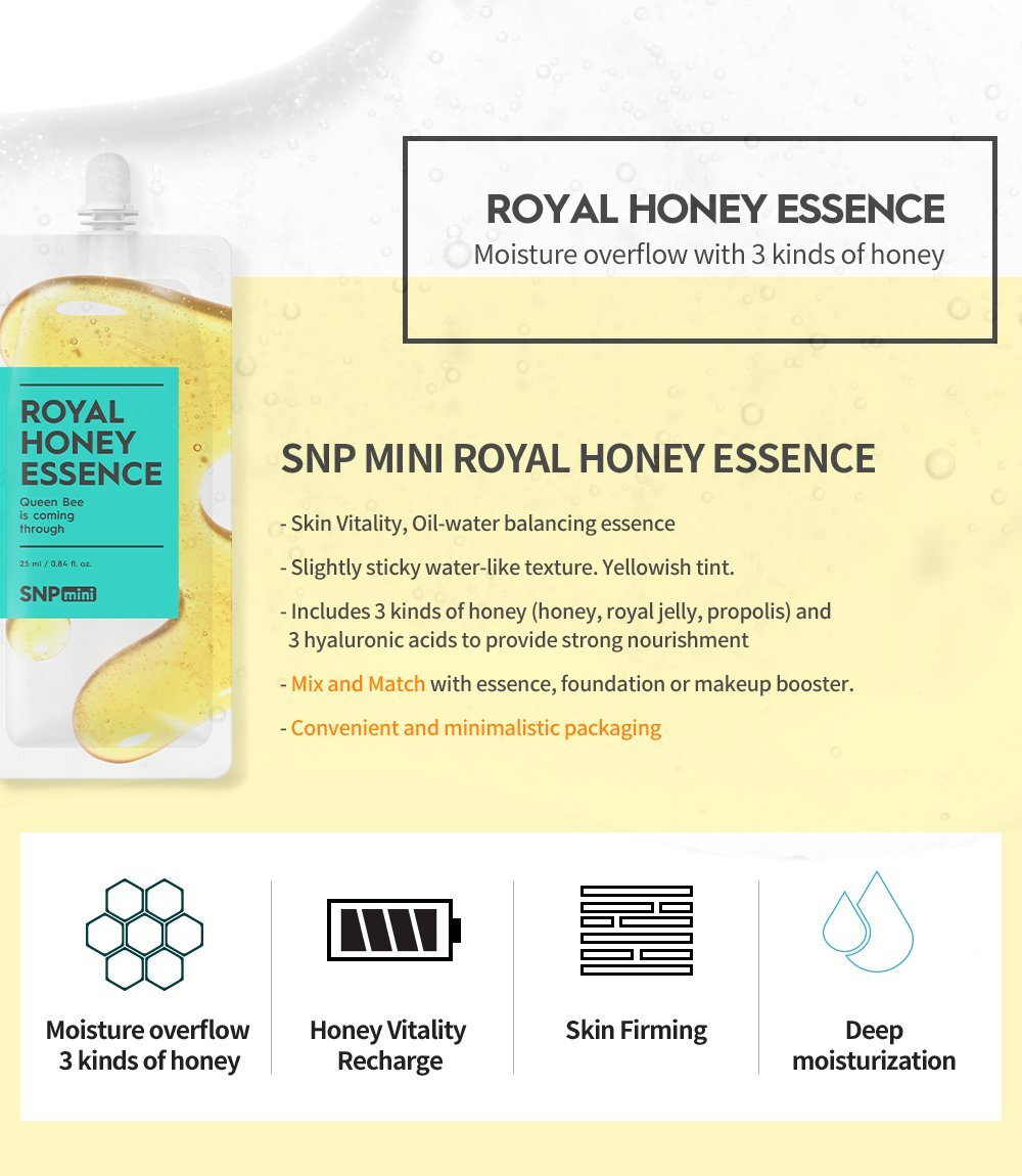 SNP COSMETICS Royal Honey Essence Mini