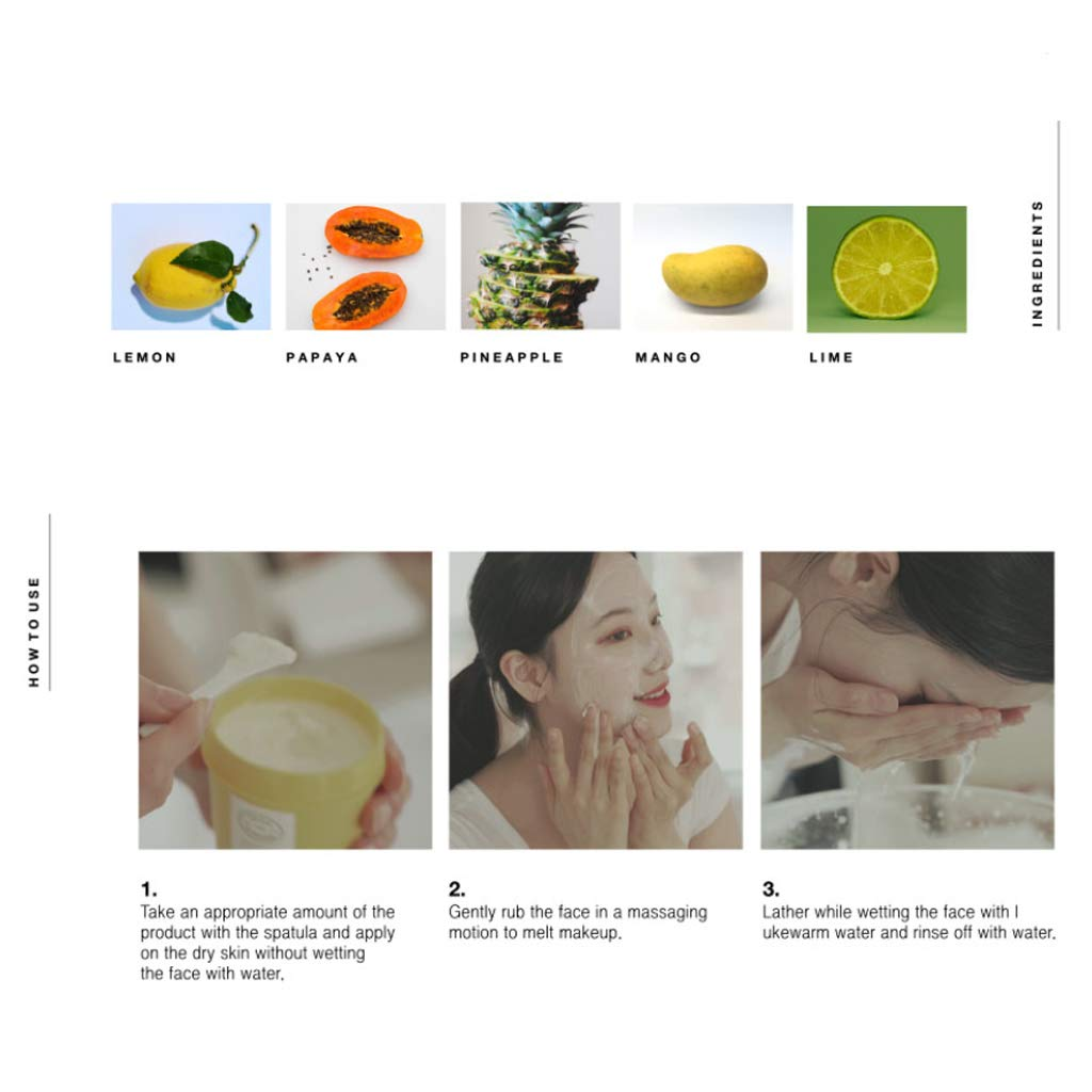JUICE TO CLEANSE Water Wash Balm Korean