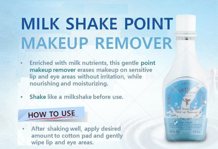 Skinfood Milkshake Point Makeup Remover