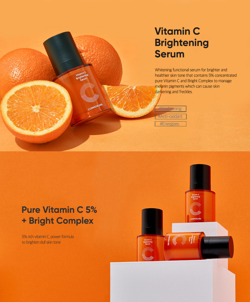 COMMONLABS Vitamin C Brightening Serum